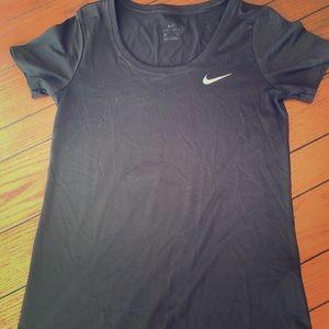 Black Nike Scoop Neck (Small)